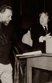 Georges et Richard Burton