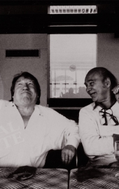 Georges et Jack Clayton